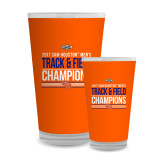 Full Color Glass 17oz-2017 Southland Conference Mens Track and Field