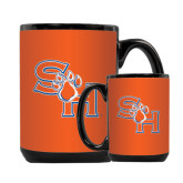 Full Color Black Mug 15oz-SH Paw Official Logo