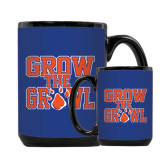 Full Color Black Mug 15oz-Grow the Growl