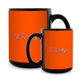 Full Color Black Mug 15oz-Bearkats