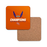 Hardboard Coaster w/Cork Backing-Southland Conference Indoor Track and Field Champions