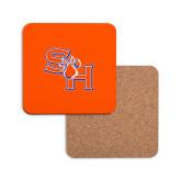 Hardboard Coaster w/Cork Backing-SH Paw Official Logo