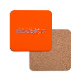 Hardboard Coaster w/Cork Backing-Bearkats