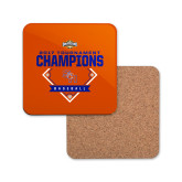 Hardboard Coaster w/Cork Backing-2017 Southland Conference Baseball Champions