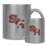 Full Color Silver Metallic Mug 11oz-SH Paw Official Logo