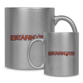 Full Color Silver Metallic Mug 11oz-Bearkats