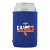 Collapsible Royal Can Holder-Southland Conference Indoor Track and Field Champions