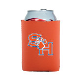 Collapsible Orange Can Holder-SH Paw Official Logo