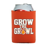 Collapsible Orange Can Holder-Grow the Growl