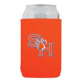 Neoprene Orange Can Holder-SH Paw Official Logo