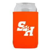 Neoprene Orange Can Holder-Primary Athletics Mark