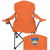 Deluxe Orange Captains Chair-100th Football Season