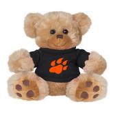 Plush Big Paw 8 1/2 inch Brown Bear w/Black Shirt-Secondary Athletics Mark