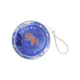 Light Up Blue Yo Yo-SH Paw Official Logo