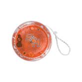 Light Up Orange Yo Yo-SH Paw Official Logo