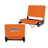 Stadium Chair Orange-Arched SHSU Bearkats