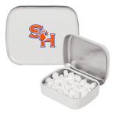 White Rectangular Peppermint Tin-SH Paw Official Logo