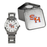 Mens Stainless Steel Fashion Watch-SH Paw Official Logo