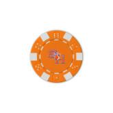 Orange Game Chip-SH Paw Official Logo