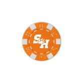 Orange Game Chip-Primary Athletics Mark