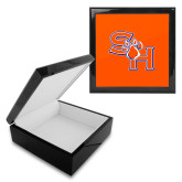 Ebony Black Accessory Box With 6 x 6 Tile-SH Paw Official Logo