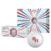 Callaway Supersoft Golf Balls 12/pkg-SH Paw Official Logo