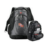 Wenger Swiss Army Tech Charcoal Compu Backpack-SH Paw Official Logo