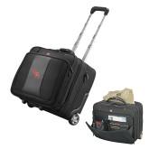 Wenger Transit Wheeled Black Compu Briefcase-SH Paw Official Logo