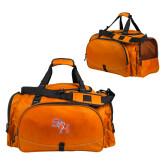 Challenger Team Orange Sport Bag-SH Paw Official Logo