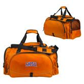 Challenger Team Orange Sport Bag-Arched SHSU