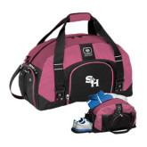 Ogio Pink Big Dome Bag-SH Paw Official Logo