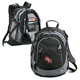 High Sierra Black Titan Day Pack-SH Paw Official Logo