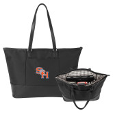 Stella Black Computer Tote-SH Paw Official Logo