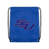 Royal Drawstring Backpack-SSU