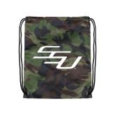 Camo Drawstring Backpack-SSU