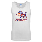 White Tank Top-Official Logo