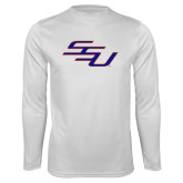 Syntrel Performance White Longsleeve Shirt-SSU