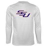 Syntrel Performance White Longsleeve Shirt-SSU