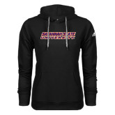 Adidas Climawarm Black Team Issue Hoodie-Horizontal Mark