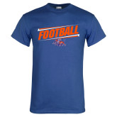 Royal T Shirt-Football Design