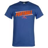 Royal T Shirt-Football Design
