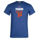 Royal T Shirt-Basketball Net Design