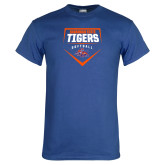 Royal T Shirt-Softball Plate Design