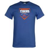 Royal T Shirt-Softball Plate Design