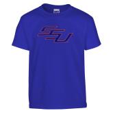 Youth Royal T Shirt-SSU