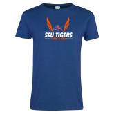 Ladies Royal T Shirt-Track & Field Design