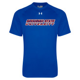 Under Armour Royal Tech Tee-Horizontal Mark