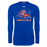 Under Armour Royal Long Sleeve Tech Tee-Track & Field