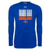 Under Armour Royal Long Sleeve Tech Tee-Golf Design