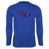 Syntrel Performance Royal Longsleeve Shirt-SSU